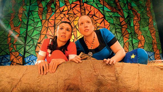 Bebel Ribeiro e Juliana Offenbecker em 'Amazônia Adentro'